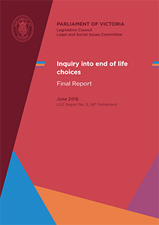 Victorian Voluntary Assisted Dying Bill discussion paper