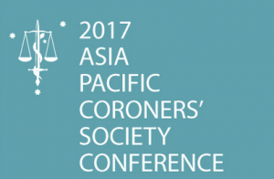 Marshall Perron - Address to Asia Pacific Coroners' Society Conference 2017